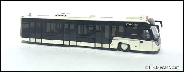 NZG 981/40 - Cobus 3000 Airport Bus White - HO 1/87 Scale